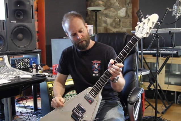 judas-priest-touring-guitarist-andy-sneap-discusses-his-love-of-'flying-v'-guitars-in-documentary-outtake